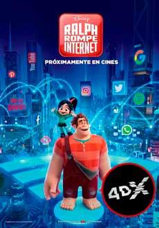 (4DX) Ralph rompe Internet
