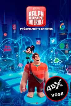 (4DX) (VOSE) Ralph rompe Internet