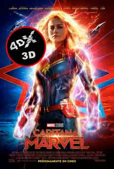 (4DX) (3D) Capitana Marvel