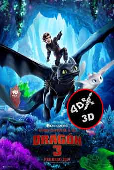 (4DX) (3D) Como entrenar a tu dragón 3