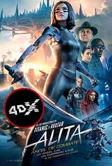 (4DX) Alita, ángel de combate