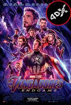 (4DX) Vengadores: Endgame