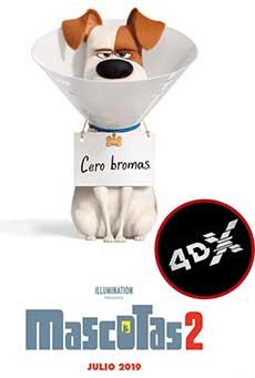 (4DX) Mascotas 2