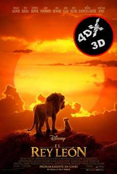(4DX) (3D) El rey león