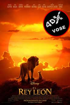 (4DX) (VOSE) El rey león