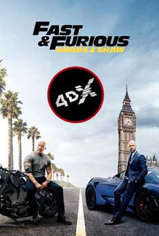 (4DX) Fast & Furious: Hobbs & Shaw