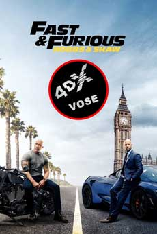 (4DX) (VOSE) Fast & Furious: Hobbs & Shaw