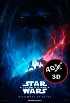 (4DX) (3D) Star Wars: El ascenso de Sky Walker