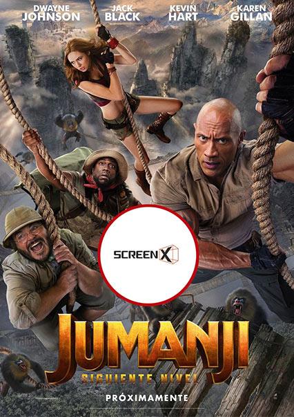(SCREEN X) Jumanji: Siguiente nivel
