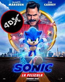 (4DX) Sonic La Película