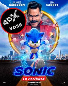 (4DX) (VOSE) Sonic La Película