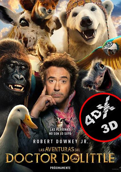 (4DX) (3D) Las aventuras del Doctor Dolittle