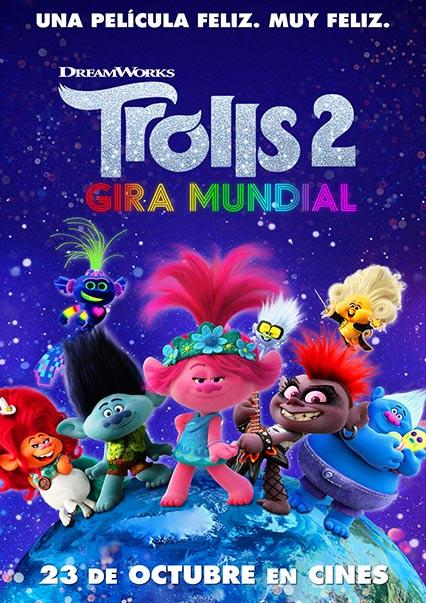 Trolls 2, gira mundial