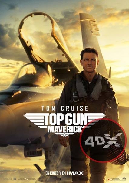 (4DX) Top Gun: Maverick