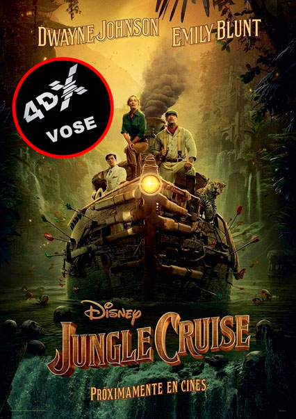 (4DX) (VOSE) Jungle Cruise